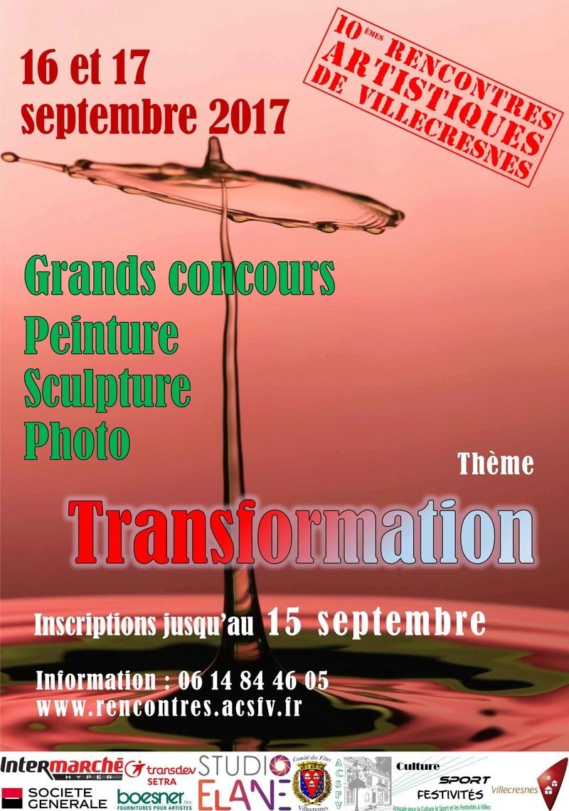 Grands concours de Peinture, Sculpture, Photo à Villecresnes Affich10