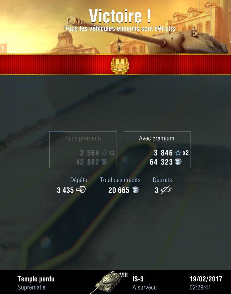 IS-3 - Lourd - T8 Is-310