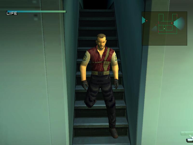Metal Gear Solid 2: Retro Barry Burton [Tanker] Mgs2_s11