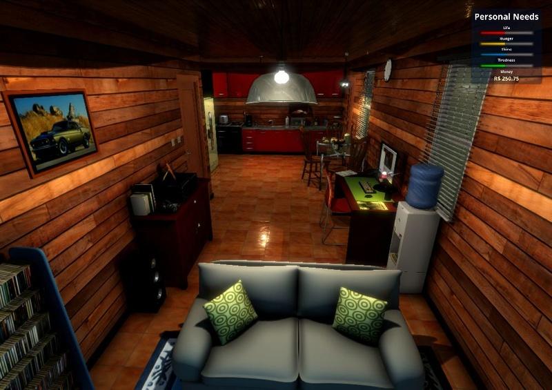 Home Simulator 2017 (Estilo The Sims em 1ª Pessoa) (Download Grátis) v1.0.2 Imagem10