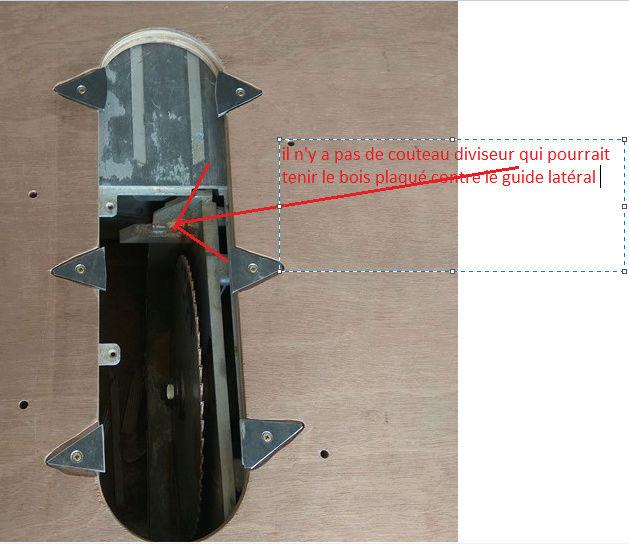 modification scie Makita MLT 100 Captur16