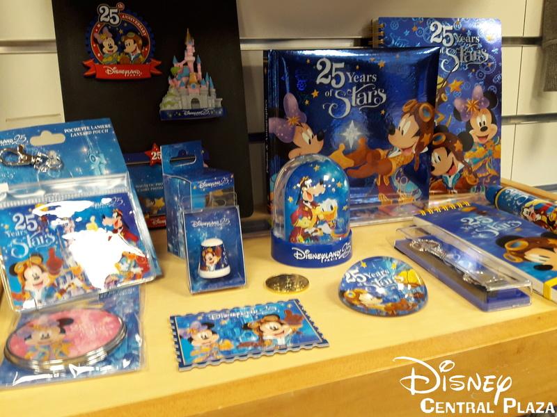 Présentation du Merchandising des 25 ans de Disneyland Paris 20170213