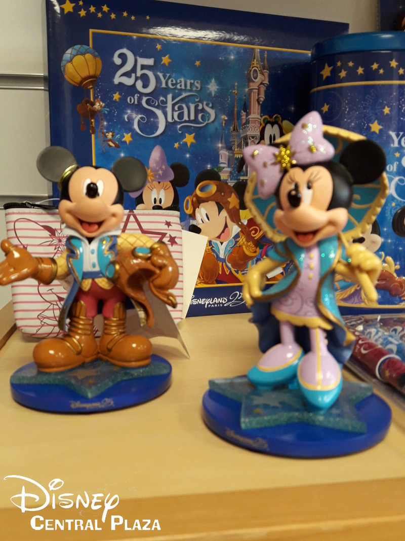 Présentation du Merchandising des 25 ans de Disneyland Paris 20170217