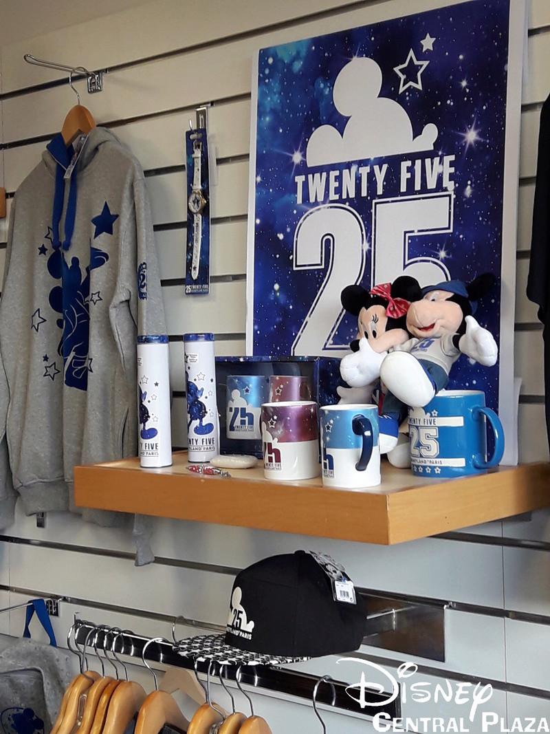 Présentation du Merchandising des 25 ans de Disneyland Paris 20170223