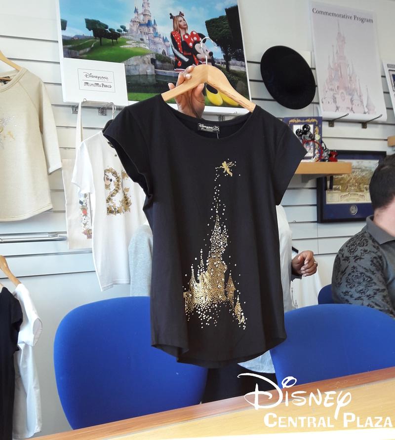 Présentation du Merchandising des 25 ans de Disneyland Paris 20170227