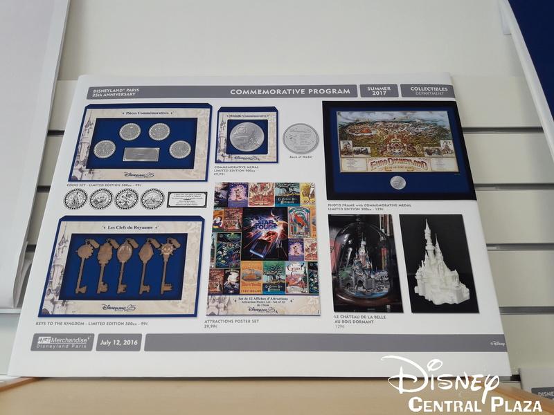 Présentation du Merchandising des 25 ans de Disneyland Paris 20170230