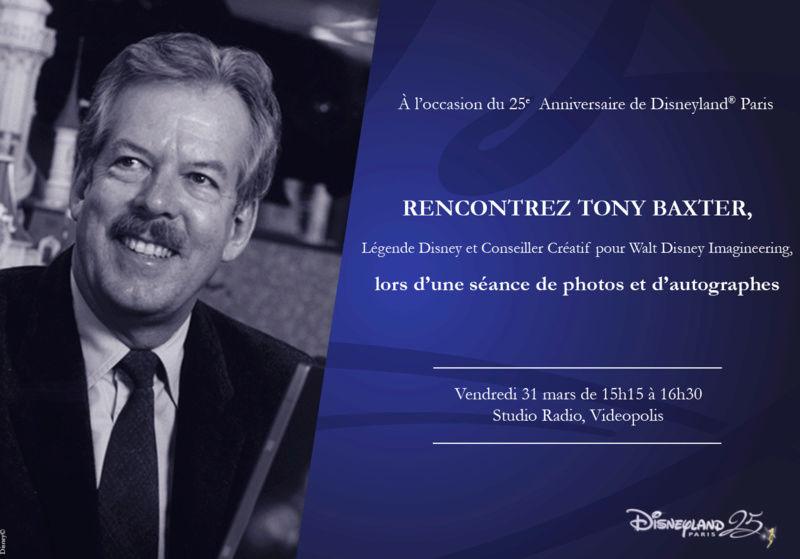 [Évènement] Séance d'autographes avec l'Imagineer Tony Baxter le 31 mars à Videopolis Franca10