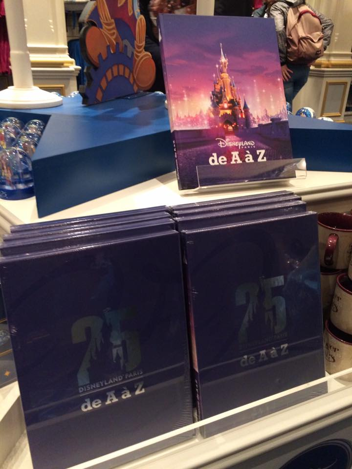 Livre Disneyland Paris De A A Z 2017