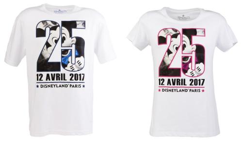 Présentation du Merchandising des 25 ans de Disneyland Paris Tee_sh11
