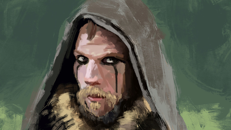 Twrch - croquis - Study painting - WIP  - Page 9 Floki10