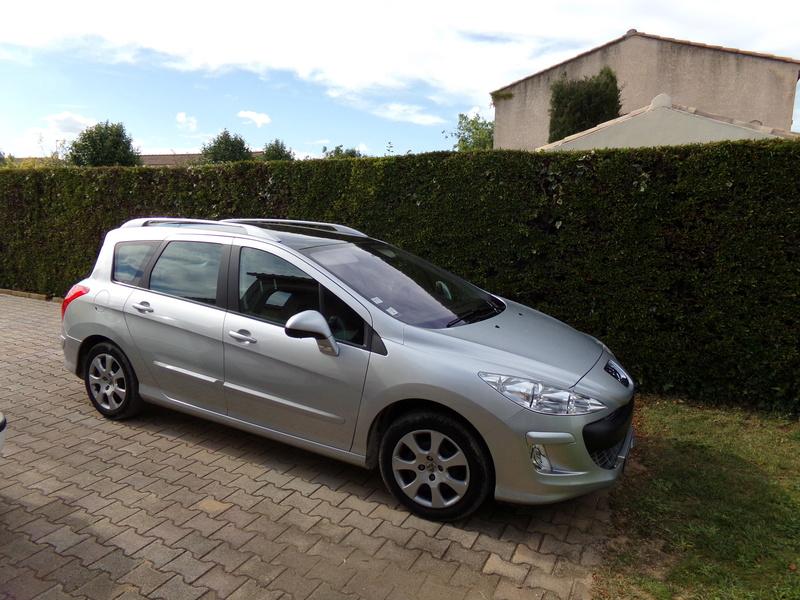 ma nouvelle auto: peugeot 308 100_1113