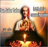 ORACIONES A SAN JUDAS TADEO PATRÓN DE LOS IMPOSIBLES