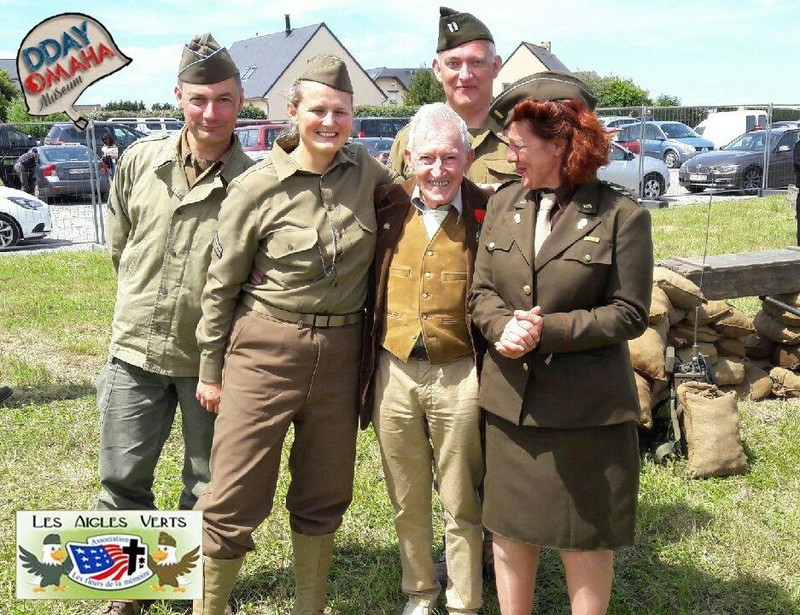 3>6 Juin 2017 - VIERVILLE SUR MER - Omaha Camp 18838910