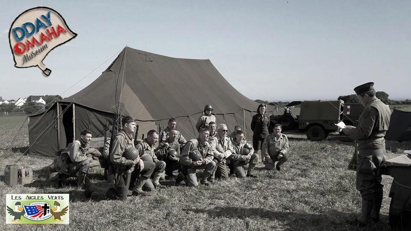 3>6 Juin 2017 - VIERVILLE SUR MER - Omaha Camp 18920110