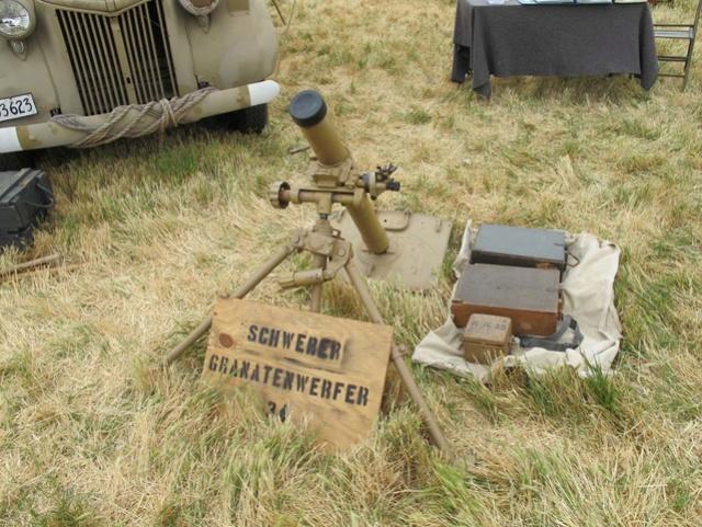 Mortier 80mm allemand (replique) Image11
