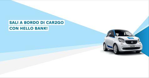 HELLO BANK regala BUONO CAR2GO € 150 [scaduta il 30/06/2017] Cattur19