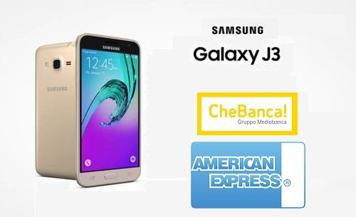 CARTA AMERICAN EXPRESS & CHEBANCA! regalano SMARTPHONE SAMSUNG J3 DUAL SIM [scaduta il 31/05/2017] Samsun10