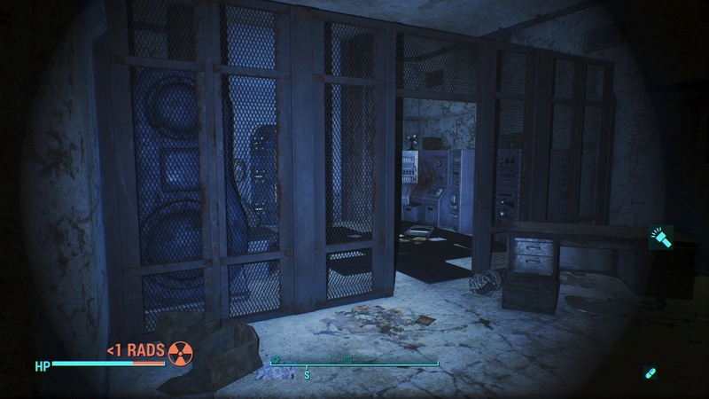 [FO4] Security Mesh Wall 20170210