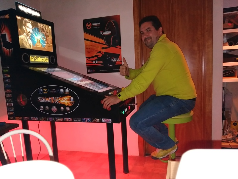 Ma machine - PinMameCab Victor10