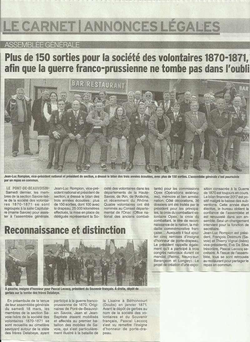 ACTIVITES DIVERSES DE LA SECTION SAVOIE ISERE - Page 6 Ag_20110