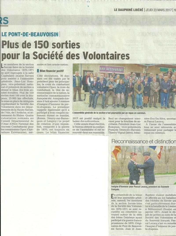 ACTIVITES DIVERSES DE LA SECTION SAVOIE ISERE - Page 6 Ag_20111