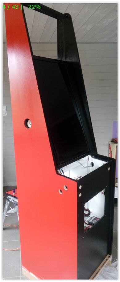 [WIP 70%] Pincab vertical Pincab16