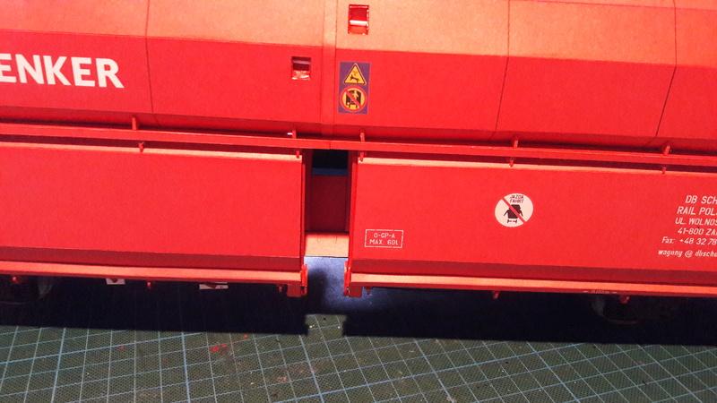 Fertig - Kohlewaggon gebaut von Nicol / Holzkopf  20170241
