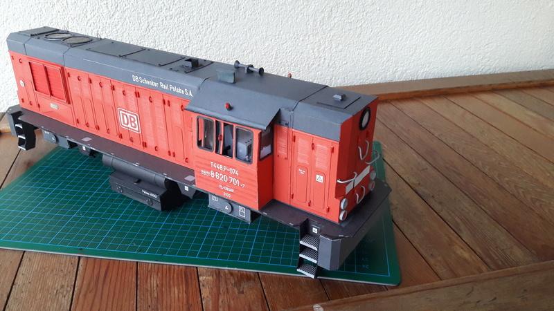 Fertig - Czechische Diesellok T448p gebaut von Holzkopf 20170331