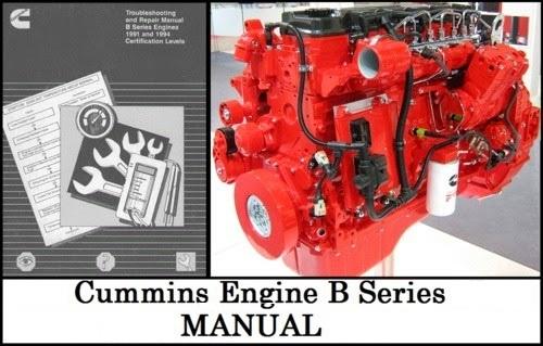 Cummins B series Shop Manual  27821811