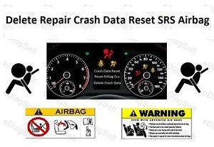 Airbag ECU/Module SRS Crash Data Reset DVD. S-l30011