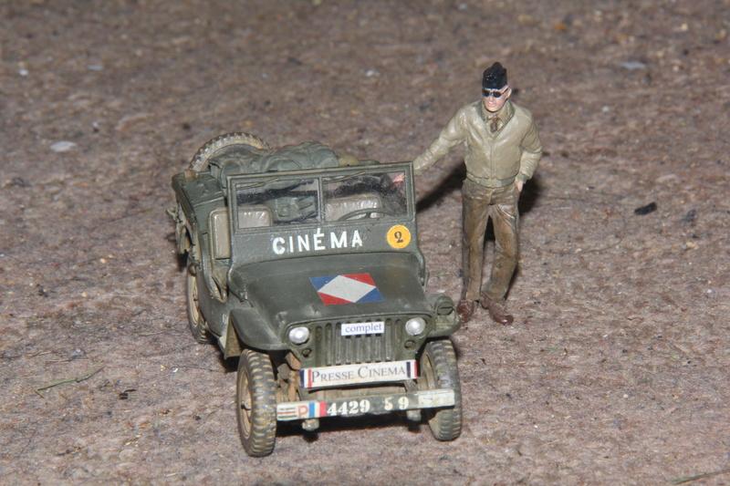 Jeep du SCA Tamiya 1/35 02810