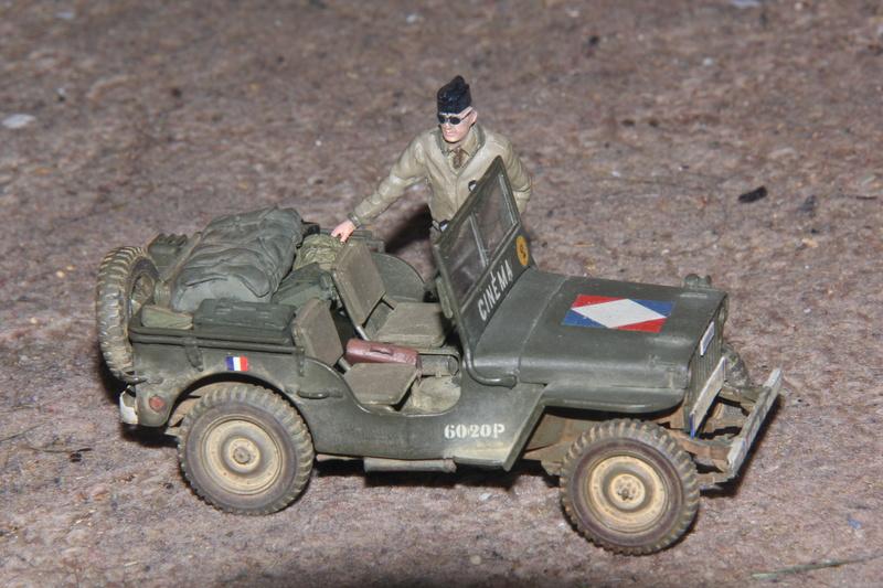 Jeep du SCA Tamiya 1/35 03210