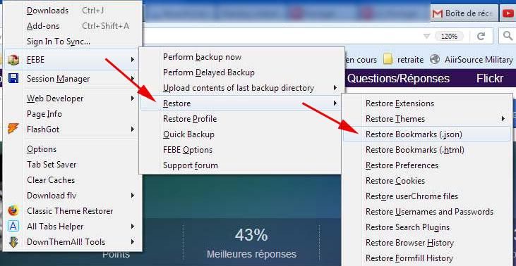Tuto sur l'utilisation de FEBE pour sauvegarder vos signets (Firefox uniquement) Captur22