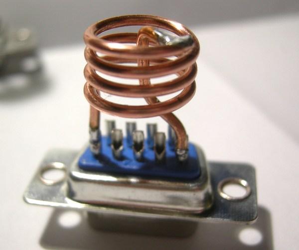 Réalisation d'un Grid Dip Oscillator (GDO) à tube. Les inductances Dscn4912