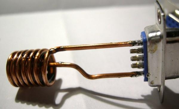 Réalisation d'un Grid Dip Oscillator (GDO) à tube. Les inductances Dscn4914