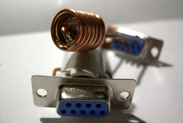 Réalisation d'un Grid Dip Oscillator (GDO) à tube. Les inductances Dscn4915