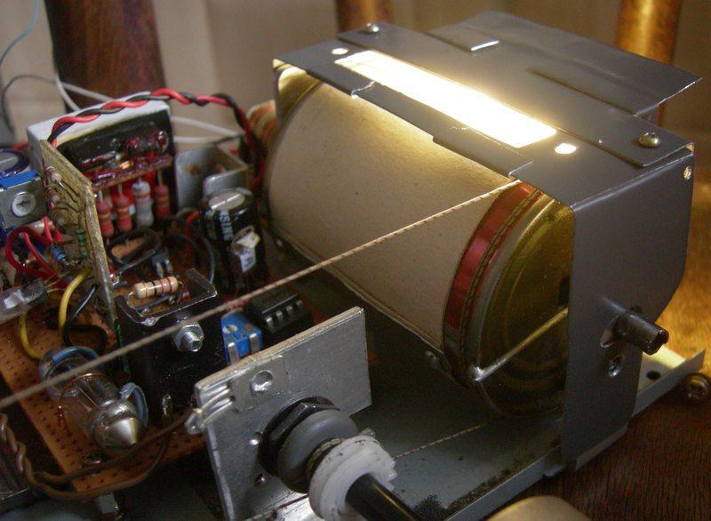 Réalisation d'un Grid Dip Oscillator (GDO) à tube. Partie mécanique Tambou10