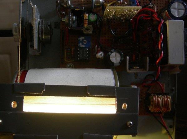 Réalisation d'un Grid Dip Oscillator (GDO) à tube. Partie mécanique Tambou11