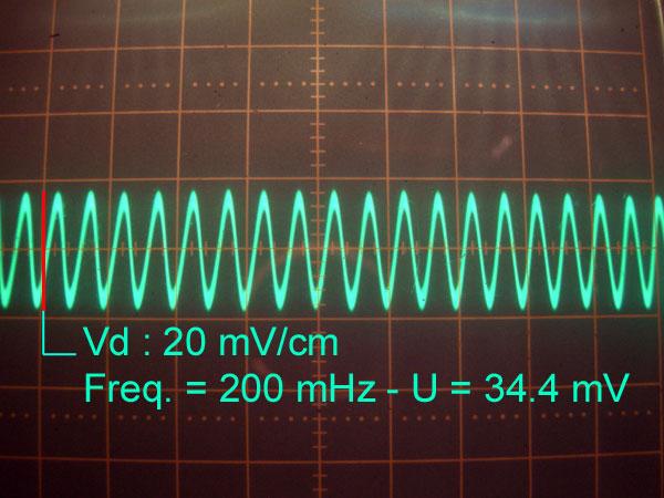 Réalisation d'un Grid Dip Oscillator (GDO) à tube. premières mesures avant modification V1_1-210