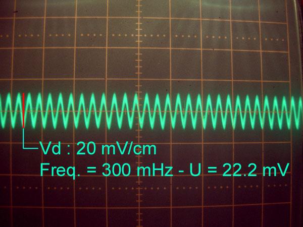 Réalisation d'un Grid Dip Oscillator (GDO) à tube. premières mesures avant modification V1_1-310