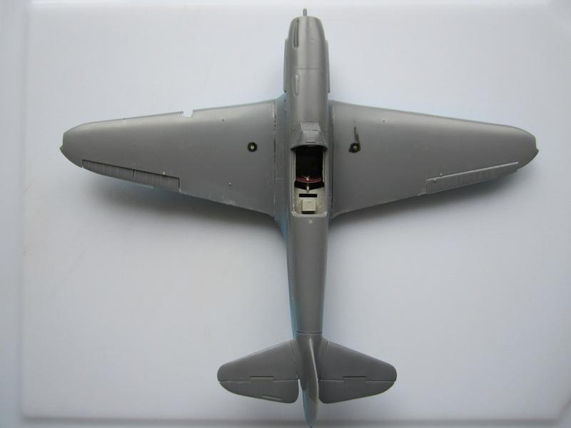 Yakovlev Yak 1B 1/48 Eduard  Img_2105
