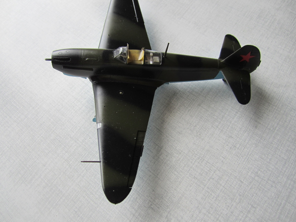 Yakovlev Yak 1B 1/48 Eduard  Img_2510
