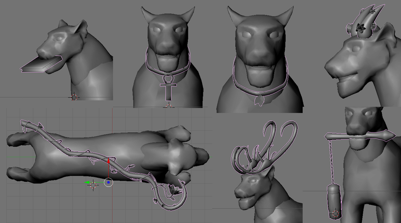 Some 3D models of the item.. Hhhhhh10