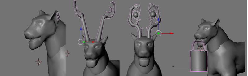 item - Some 3D models of the item.. Item10