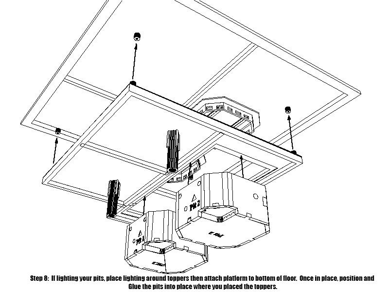 LrdSatyr's DeAgostini Millenium Falcon Diorama Build - Page 8 Platfo17