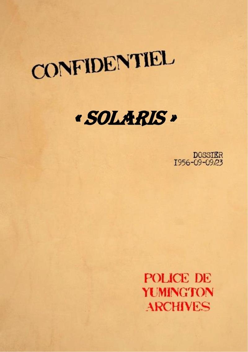 TOP SECRET Projet Solaris !  Projet21