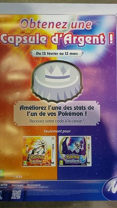 Micromania vous offre un album collector Pokémon et une capsule pour Soleil et Lune Capsul10