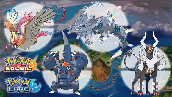 Obtenez quatre Méga-Gemmes supplémentaires dans votre jeu Pokémon Soleil ou Pokémon Lune ! Vg-may10