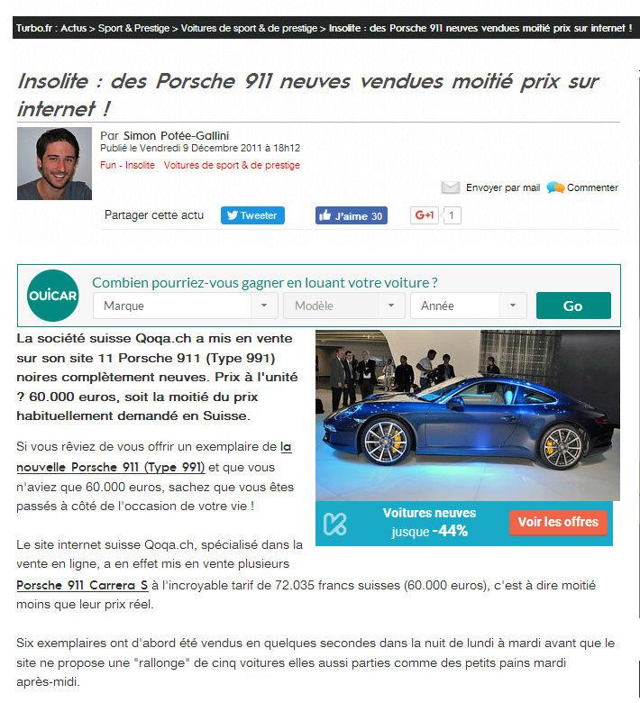 10 Panamera à moitié prix en Suisse cette année ? 91110