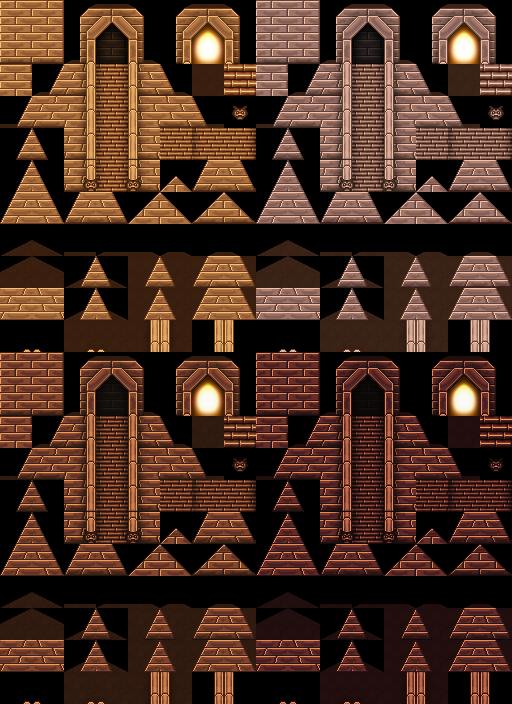 Bibliothèque des ressources VX Ace Tilesets Pyrami10